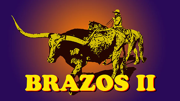 BRAZOS II PHOTO AND GRAPHICS BY JIM HOLLINGSWORTH