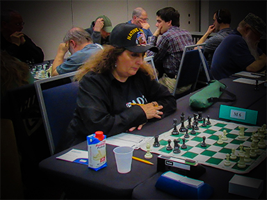 Sheryl McBroom is the top chess photographer in the Texas Chess Association