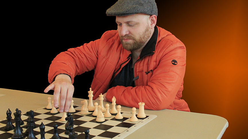 TARRANT CHESS TEAM CAPTAIN ADAM HART - PHOTO BY JIM HOLLINGSWORTH