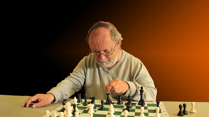 WACO CHESS TEAM CAPTAIN JOHN DE VRIES - PHOTO BY JIM HOLLINGSWORTH