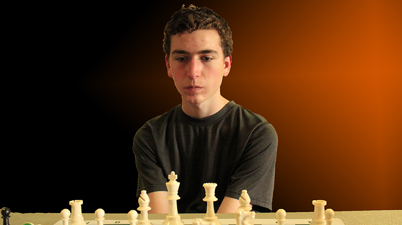 ZACH GRABER IS RANKED IN THE 93RD PERCENTILE OF ALL TEXAS CHESS PLAYERS - PHOTO AND GRAPHICS BY JIM HOLLINGSWORTH