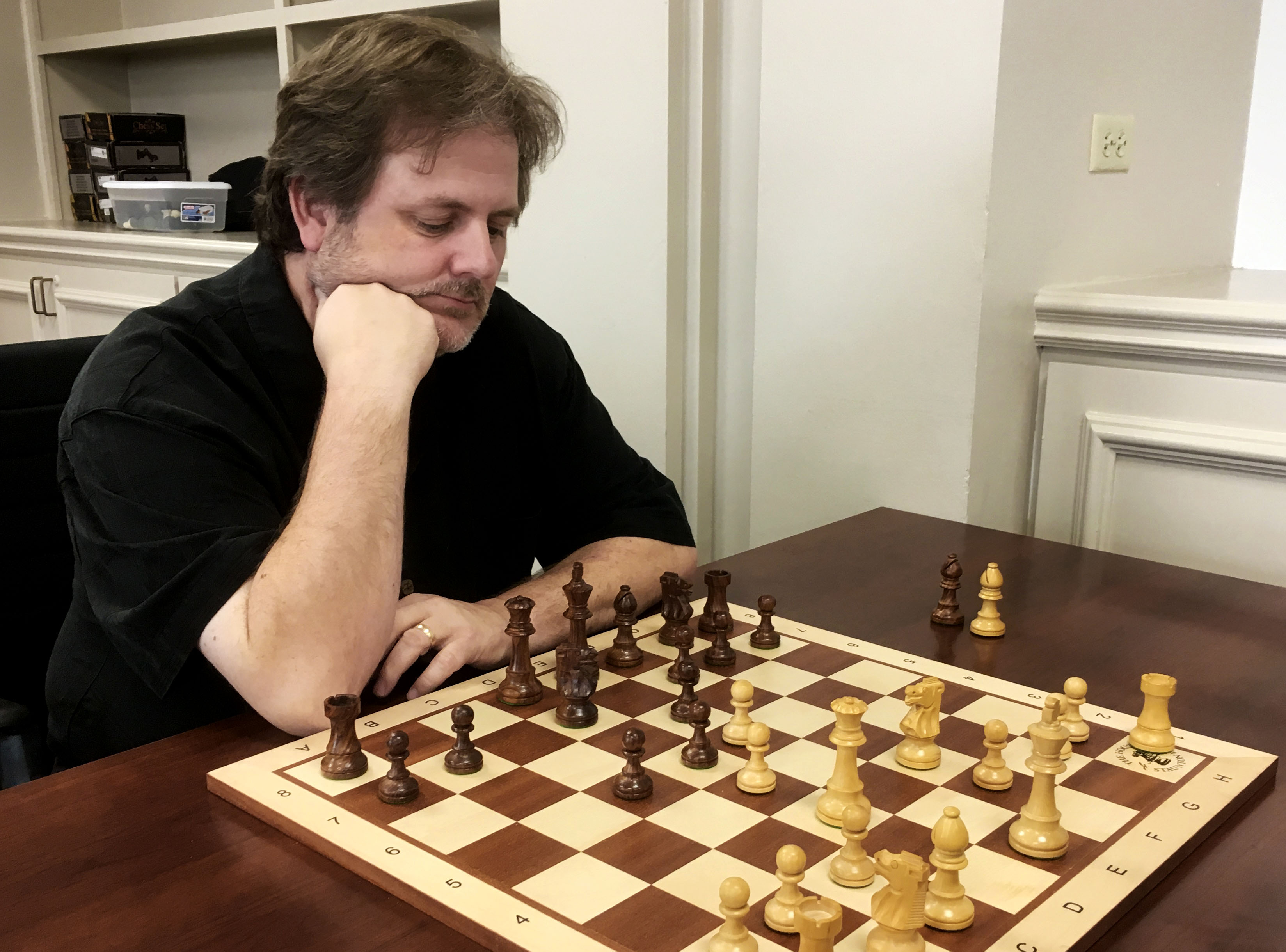 PHOTO OF US CHESS LOCAL TOURNAMENT DIRECTOR CHRIS WOOD